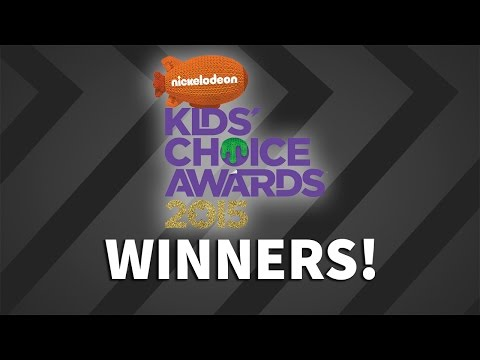 Kids' Choice Awards 2015 Winners! FULL LIST