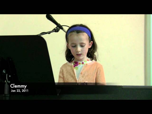 Clemmy's Winter Recital 2011