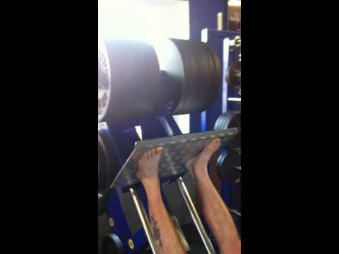 Amater leg press 320,- kg
