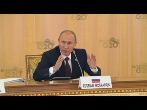 G20 summit: Vladimir Putin officially opens the summit which will focus on Syria crisis talks