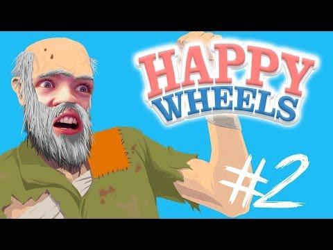 Happy Wheels - Part 2 | NINJA TRAINING