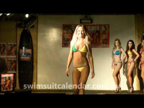 2013 Australian Swimsuit Calendar Swimwear Judging