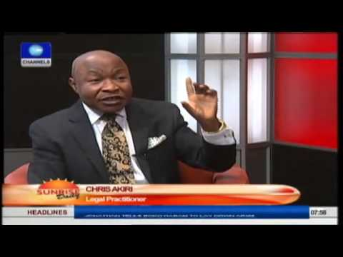 Jonathan Reserves The Right To Suspend Sanusi- Legal Practitioner  Prt3