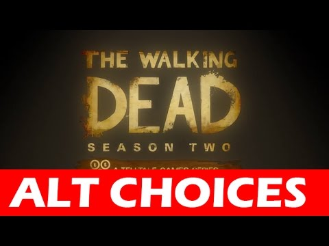 The Walking Dead Season 2 Full ALTERNATE Episode 4 Amid The Ruins Let's Play No Commentary