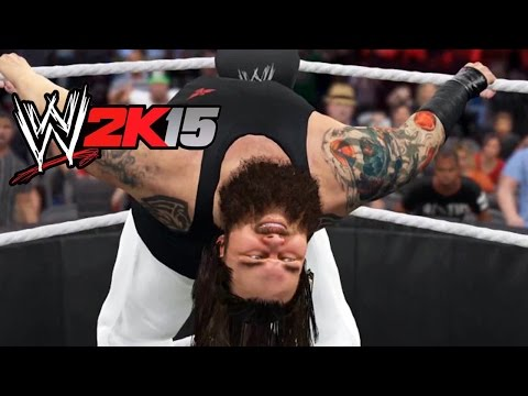 WWE 2K15: Bray Wyatt Vs Triple H Gameplay & Thoughs PS3