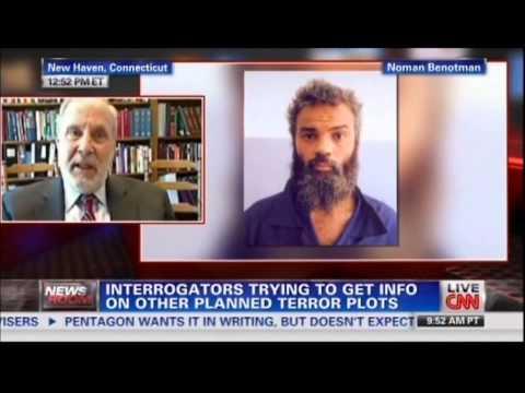 Ahmed Abu Khatallah Captured - Military Interrogations then Fed Court, CNN 6.21.14 Richard Herman