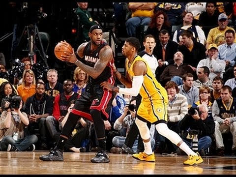 Duel: LeBron James versus Paul George Part 3
