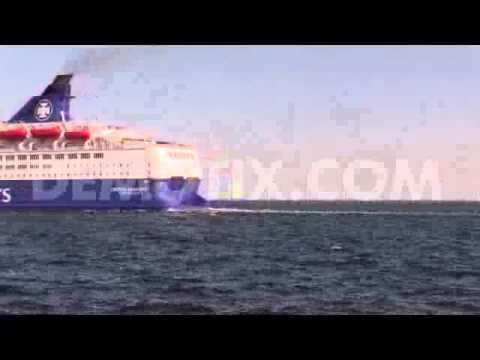 Engine accident on DFDS Crown Seaways ferry from Copenhagen to Oslo