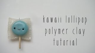Kawaii Polymer Clay Lollipops Tutorial