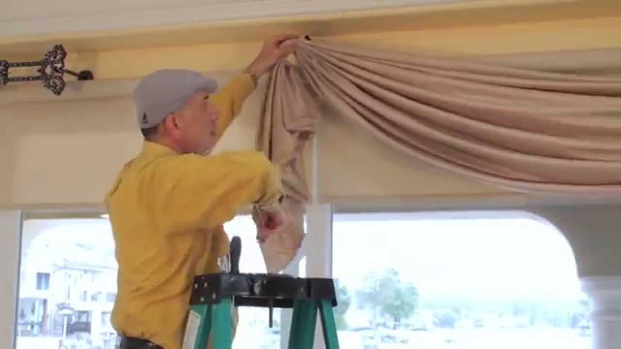 Video 36 Diy Drapery Luxurious Window Treatments With