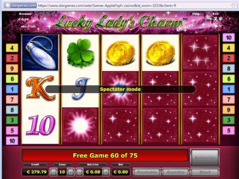 lucky lady charme 5 kugeln you tube
