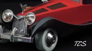 WDCC 101 Dalmations Cruella De Vil's Car
