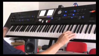 The Alan Parsons Project Remix. Using Audio Key on Roland BK9 you can do it !