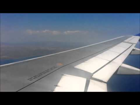 Cyprus Airways A320-232 5B-DCM takeoff (HER) and landing (SKG).