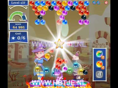 Bubble Witch Saga 2 level 137