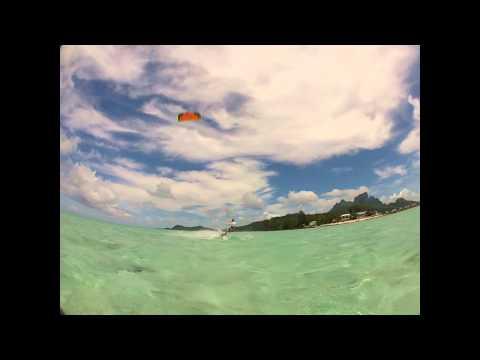 kite matira Bora Bora 2012
