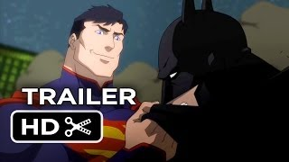 Justice League: War Official DVD Release Trailer #1 (2013
