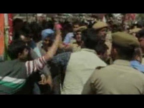 NC worker thrashed in Jammu and Kashmir CM Omar Abdullah's rally