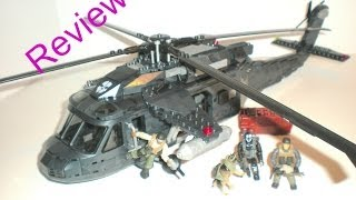 Call Of Duty Mega Bloks Ghosts Tactical Helicopter Review