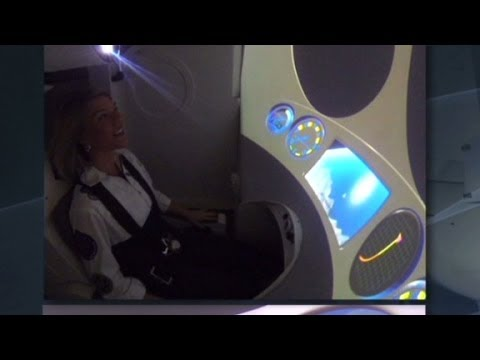 Future space tourists train like fighter pilots