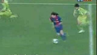 Lionel Messi Goles A Getafe