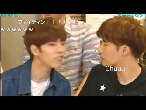 Sunggyu & Woohyun Bunny Aegyo Phim Video Clip