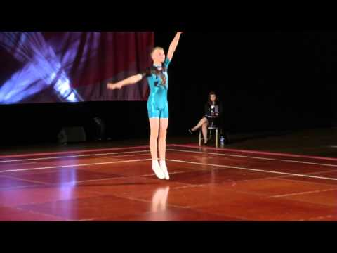 Rhys Williams - Aerobic British 2013 - SILVER
