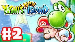 Yoshi's New Island Gameplay Walkthrough Part 2 World 2