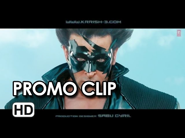 KRRISH 3 - New Promo (2013) Hrithik Roshan, Priyanka Chopra