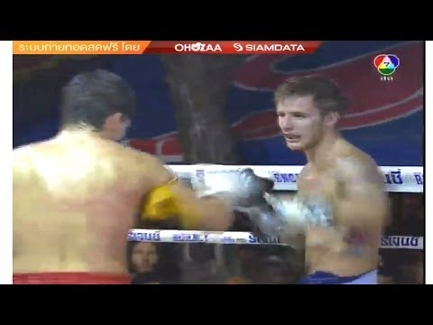 Craig Dickson VS Jos Mendonca: King's Birthday Muay Thai Competition Bangkok, 5th Dec 2013