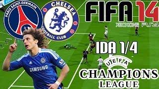 FIFA 14  UEFA Champions League  Paris Saint Germain Vs