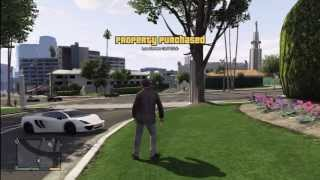 GTA 5: Buying Los Santos Golf Club $150,000,000 With A