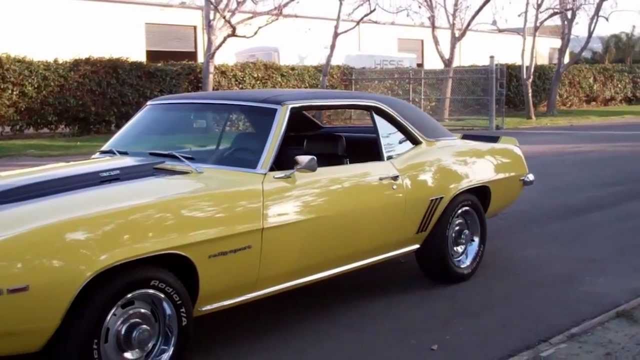sold 1969 chevrolet camaro z28 for sale by mike california youtube. Cars Review. Best American Auto & Cars Review