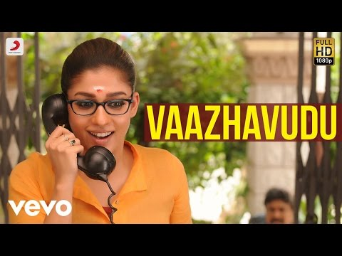 Vaazhavudu Tamil Lyric From Dora With Nayanthara Vivek - Mervin