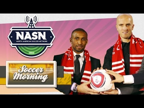 Toronto FC Introduce Jermain Defoe & Michael Bradley: Soccer Morning