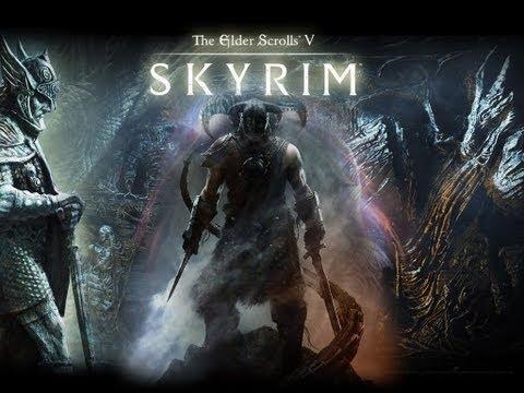The Elder Scrolls V:Skyrim-Gameplay-Español-parte 1 Bienvenidos a Skyrim