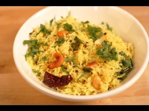 Chitranna - Lemon Rice