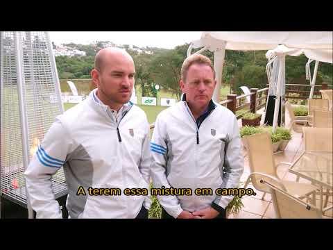 Matthew Faldo e Keith Wood comentam a Faldo Series South America 2018