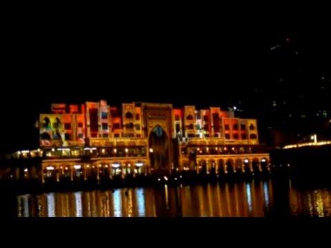 beautiful Light Festival Dubai, dubai mall 20th March 2014