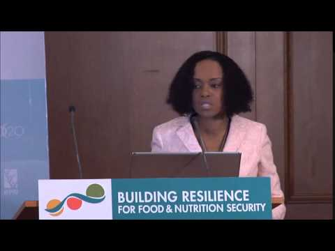 Side Event - Lystra N. Antoine on Exploring Resilience through the Global Food Security Index