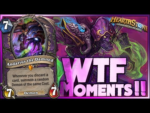 Hearthstone - WTF Moments - Funny and Lucky Plays