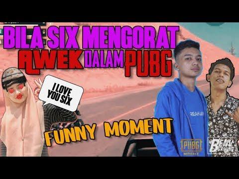Six Hendal Belak Main PUBG Dengan Awek - Funny Moment BenV - Six & Awek Part 1