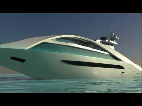 Yacht Concept Zarabeth HeliShots