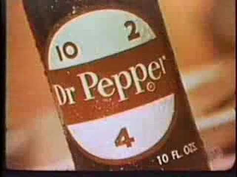 Classic 1960' Dr. Pepper Ad, Classic 1960' Dr. Pepper Ad