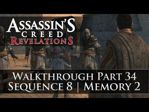 Assassins Creed - Revelations 100% Sync Walkthrough Part 34 (Sequence 8 | Memory 2)