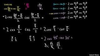 Faktorizacija trigonometričnih izrazov – naloga 4