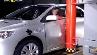 Toyota Corolla kaza testi - Euro NCAP 2007
