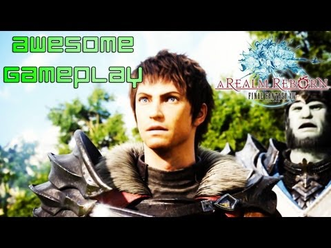 Final Fantasy XIV A Realm Reborn - Awesome Gameplay :]