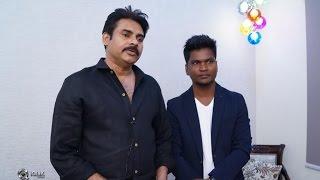 Pawan Kalyan At Koniki Saloon Opening