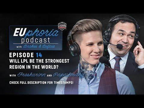 EUphoria Podcast Episode 14 | Froskurinn & PapaSmithy